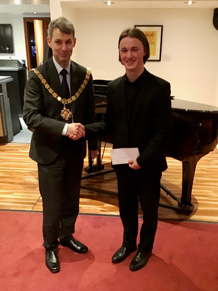 Mayor and Chris Pearce